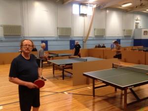 Bruce at a Rutland, Vermont GMTTC tournament.
